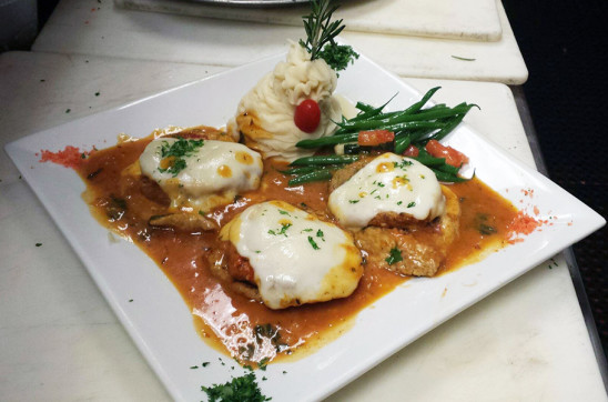 Chicken Sorrentina